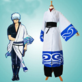 fashion Gintama Cospaly Costume Halloween Cospaly Sakata Gintoki party cosplay clothing cartoon kimono costume 18