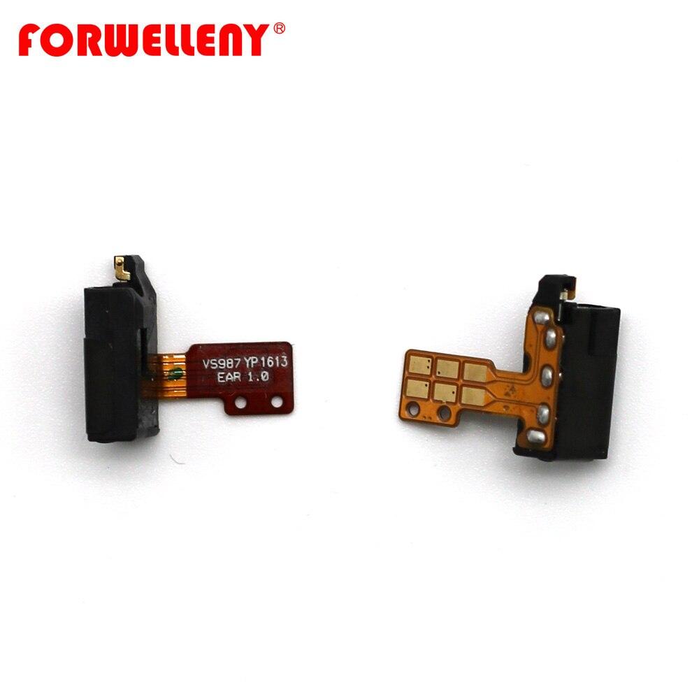 For LG G5 H845 H840 H850 VS987 Earphone Headphone Audio Mic Jack Flex Cable Replacement Repair Part