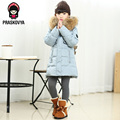 New Style Winter Jacket For Girls Parka Down Jacket Coat Outerwear Children Kids Jackets Girls Winter Coat Thickening