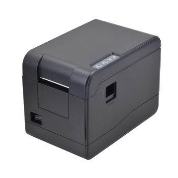 2018 High Quality 58mm thermal usb barcode label printer 2inch qr code Printing sticker machine with 1 year warranty HS-58B03