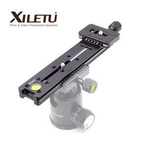 Image 3 - XILETU NNR 200 Multifunctional Lengthen Quick Release Plate Mounting Clamp Tripod Ball Head For Camera Arca Swiss Tripod