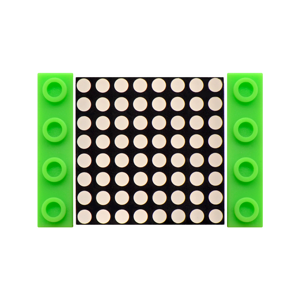 Kidsbits Blocks Coding I2C 8×8 Dot Matrix Module For Arduino STEAM EDU (Black And Eco Friendly)