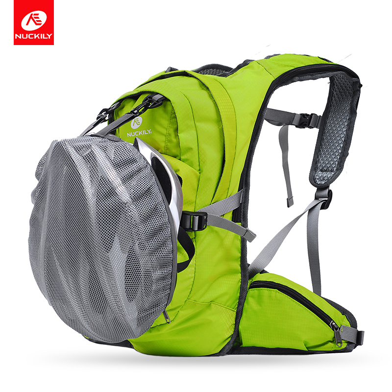 NUCKILY Sport Bags 20L Multi functional Cycling Backpack Water Resistant Bag and Scratch free Material Road