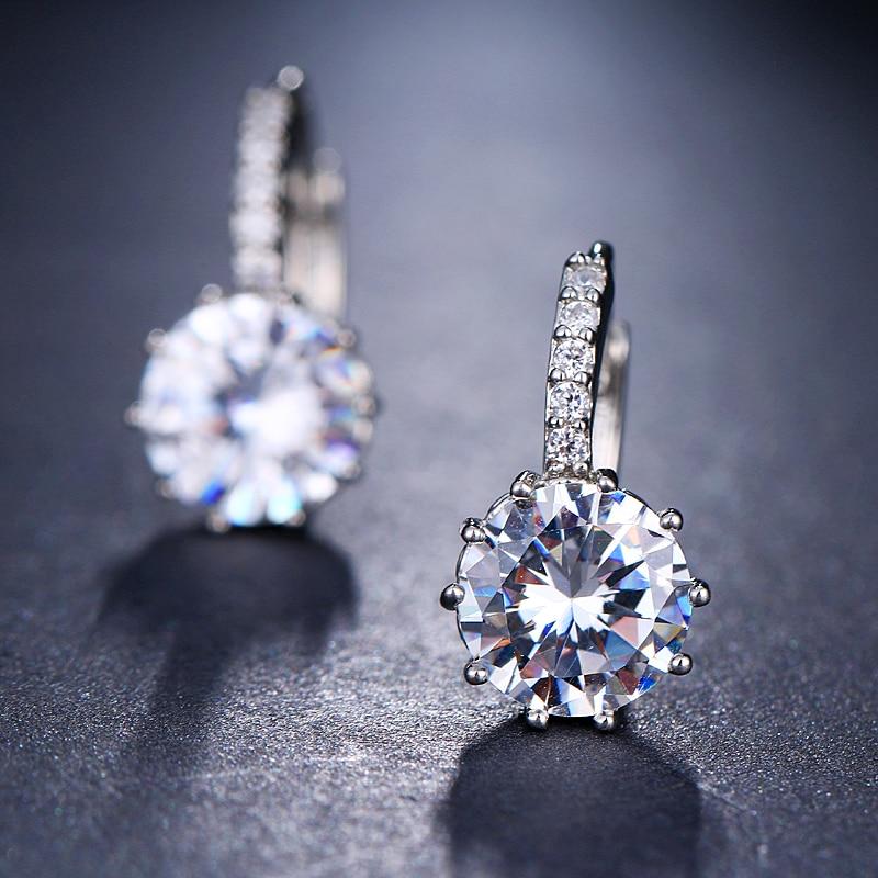 EMMAYA Fashion 10 Colors AAA CZ Element Stud Earrings For Women Wholesale Chea Factory Price 15