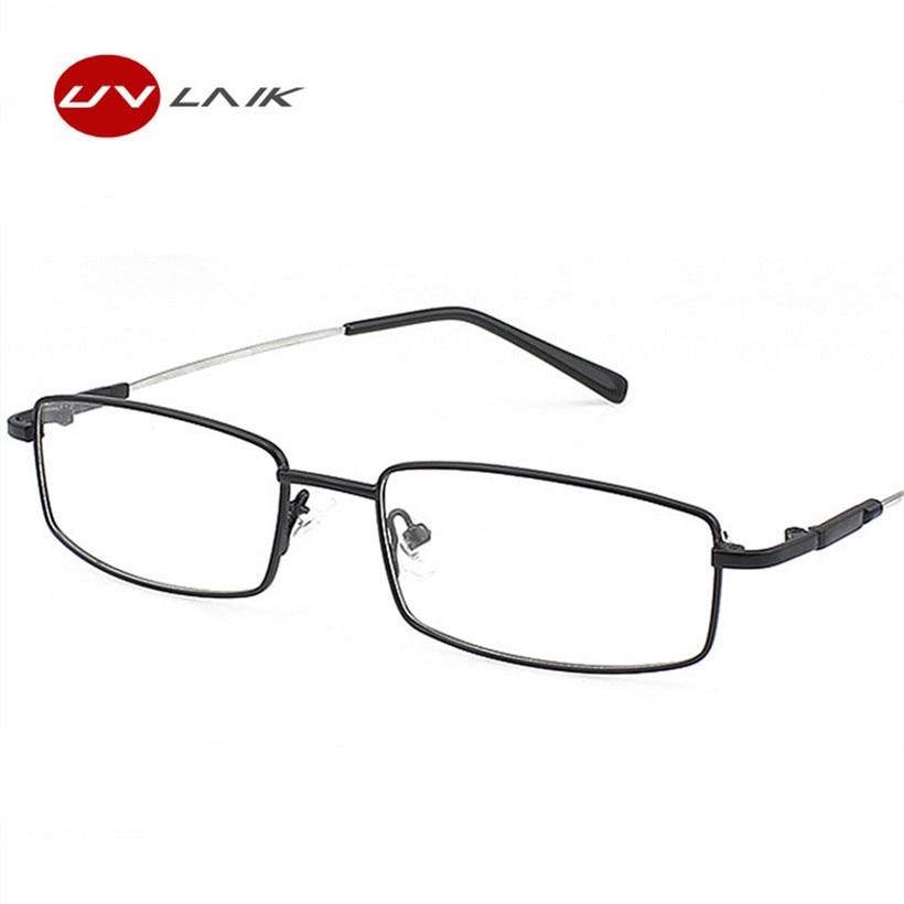 e4628f6a876 Fashion Memory Titanium Glasses Men Women Spectacle Eyeglasses Frame  Business Myopia Prescription ...