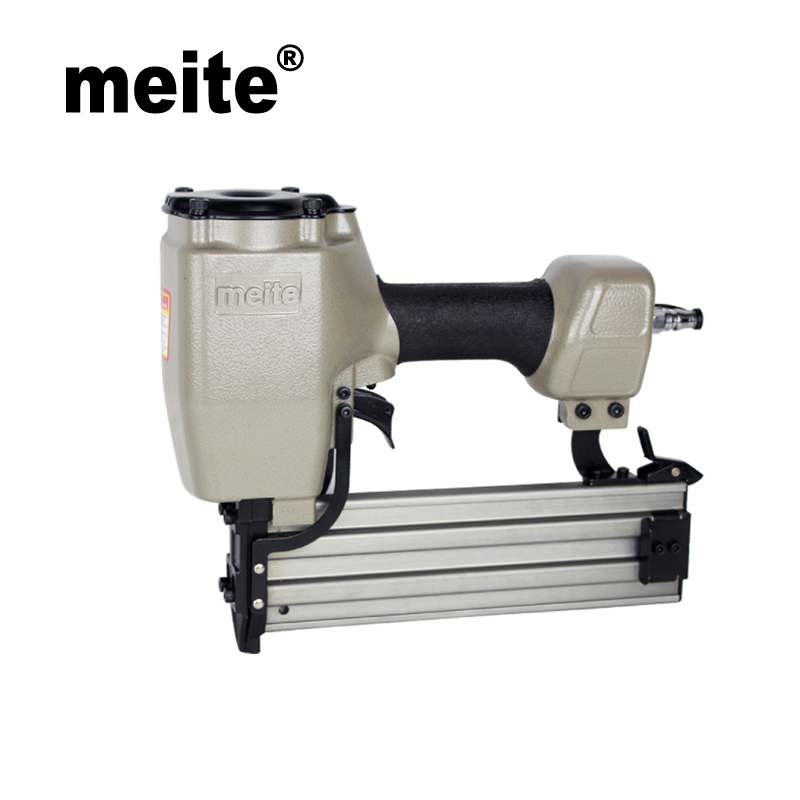 Meite ST64 14 gauge gravity type air concrete nailer pneumatic air tools t nails gun Oct.24. Update Tool meite bw120 length 48 5mm heat insulating nailer pneumatic air nailer gun for fixing outer wall in cold places sep 9 update