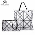2017 Fashion Brand Geometric Women's Leather Handbags Luxury Women Crossbody Shoulder Bags Ladies Hand Bags Female Kabelky tas