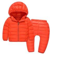 Russo giacca invernale per il ragazzo abbigliamento per bambini per le  ragazze giù cappotto di inverno ac9c6d4d8282