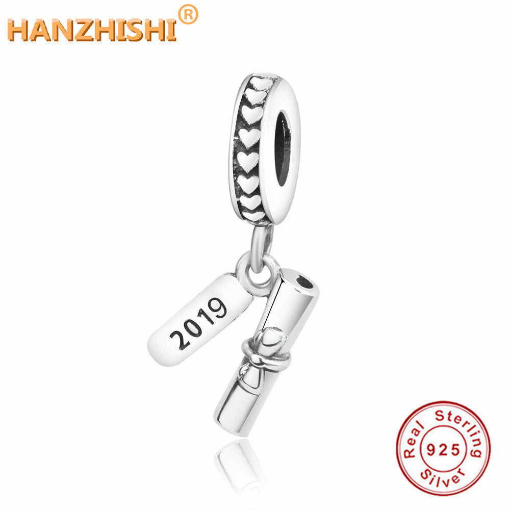 b4f7bf44da8 Detail Feedback Questions about Fits Original Pandora Charms Bracelet DIY  Jewelry Making New Fashion 925 Sterling Silver 2019 Number Books Dangle  Charm ...