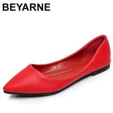 BEYARNEWomens Sandals Shoe Woman Genuine Leather Flat Shoes Fashion Hand sewn Leather Loafers Female Hole Hole Shoes Women Flat