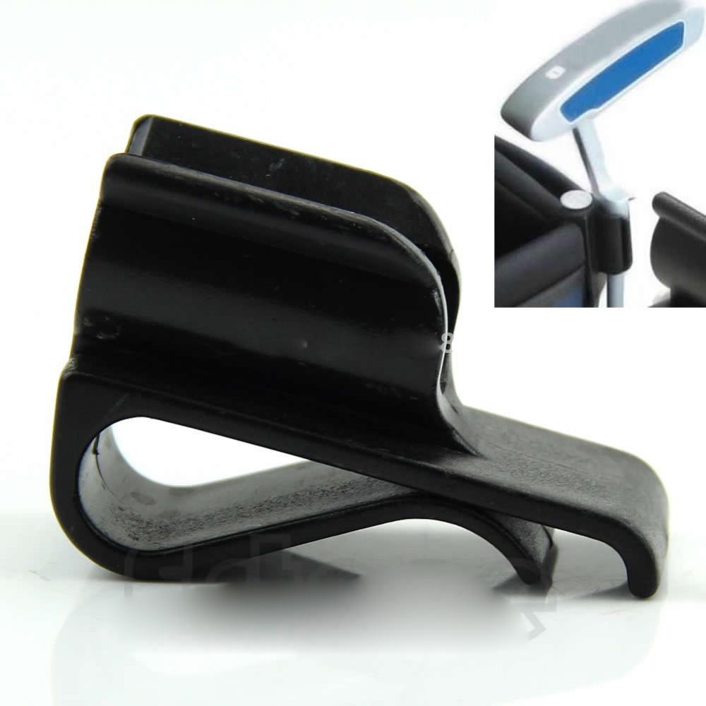1 Pcs Golf Putter Clamp Golf Bag Clip On Putter Holder Putting Organizer Drop Ship