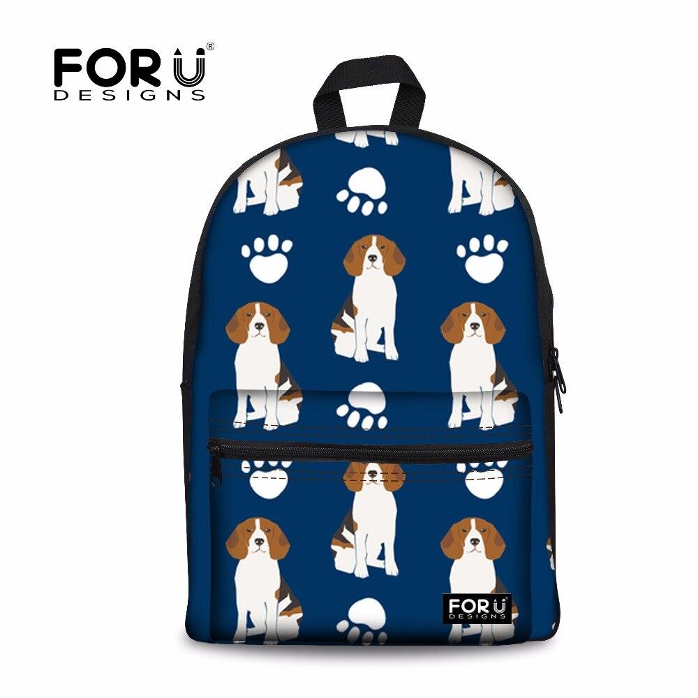 FORUDESIGNS/большие школьные рюкзаки для девочек бигли плеча рюкзак женский рюкзак ноутбук Bagpack женственный Mochilas