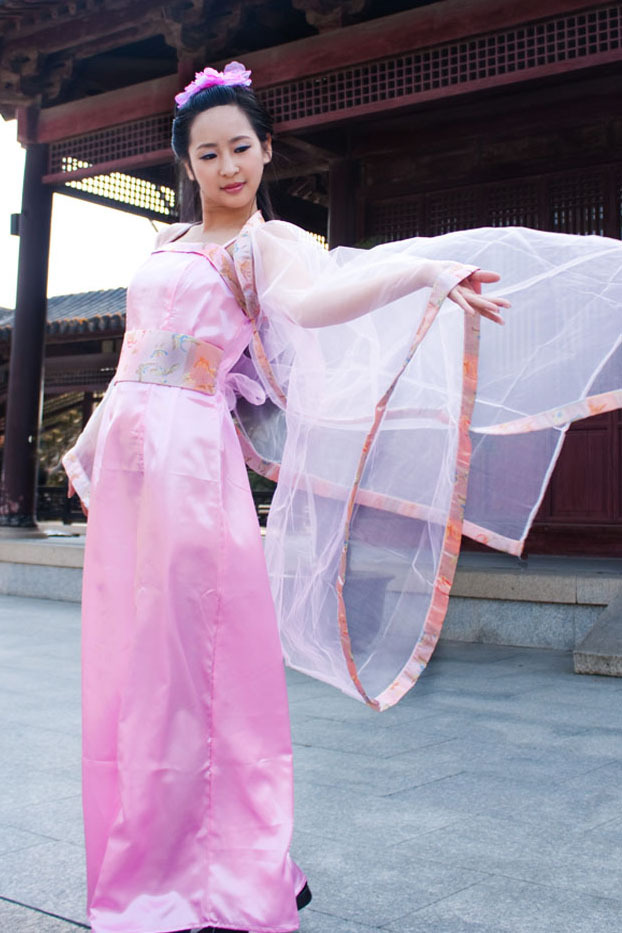 Free shipping Fairy costume clothing stage, film and television pictures little dragon female outfit hanfu in ancient costumes