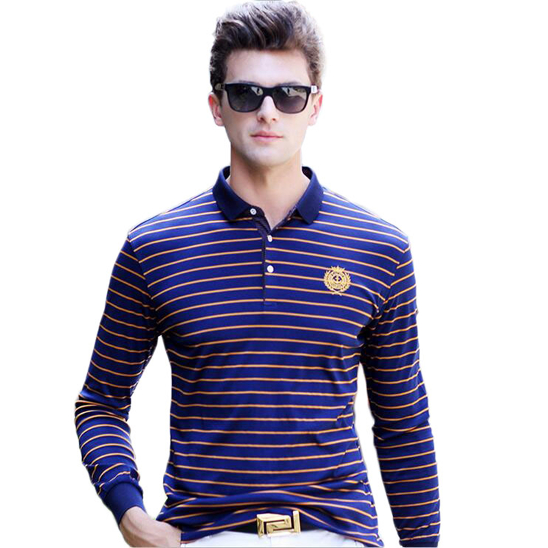 c956c65f Famous Brand 2016 Fashion Classic Striped Polo Shirts Mens Business Casual  Slim Polo Shirt Men Tommy Embroidered Comfortable 3XL-in Polo from Men's  Clothing ...