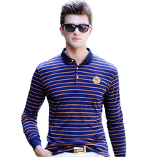 Famous Brand 2016 Fashion Classic Striped Polo Shirts Mens Business Casual Slim Polo Shirt Men Tommy Embroidered Comfortable 3XL