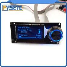 Тип D MINI12864 ЖК-дисплей Экран мини 12864 v1.2 Смарт Дисплей чёрный с белыми пятнами поддерживает марлина «сделай сам» с sd-картой 3D-принтеры аксессуары