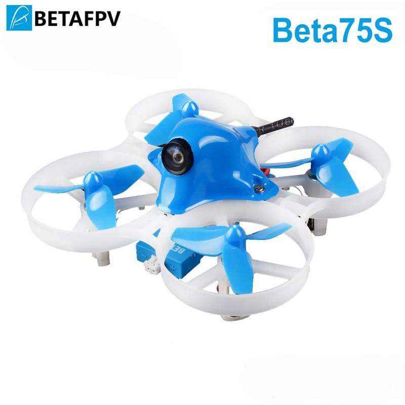 BETAFPV Beta75S Whoop Drone 1 S แปรง FPV Quadcopter พร้อม F4 FC Frsky Receiver Z02 กล้อง OSD สมาร์ทเสียง 8X20 มอเตอร์-ใน ชิ้นส่วนและอุปกรณ์เสริม จาก ของเล่นและงานอดิเรก บน   1