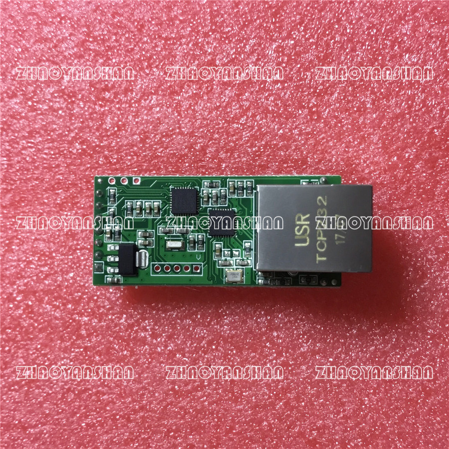 USR-TCP232-T2 TCP/IP to TTL for PLC/MCU UART to Ethernet Lan 10pcs Free Shipping usr gprs232 7s3 direct factory serial uart ttl to gprs gsm module tcp and udp supported