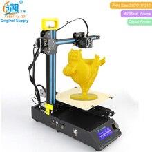 Новое Поступление Creality 3D CR-8 Обновлен 3D Принтер DIY Kit Полный Металл Легко Собрать С Свободной Нити Подарок