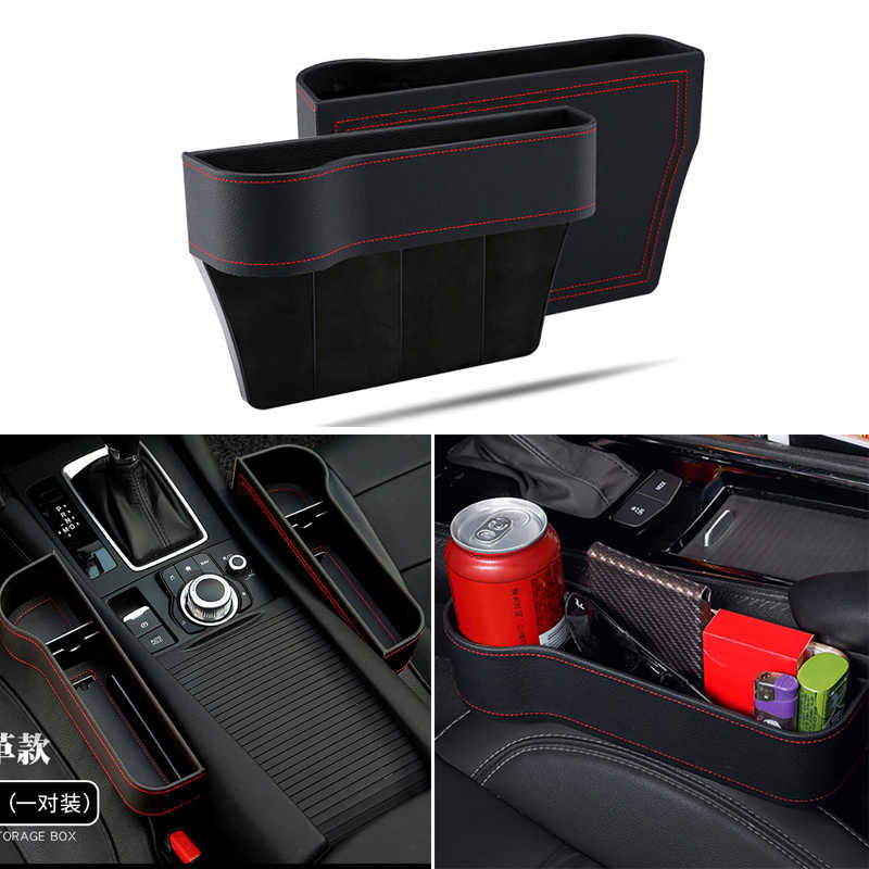 Storage Box Car Organizer Seat Car Seat Side Slit For Honda civic accord crv fit city hrv Subaru Forester Outback Legacy XV WRX