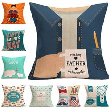 Hot Design Trendy Beautiful Father Day Pillow
