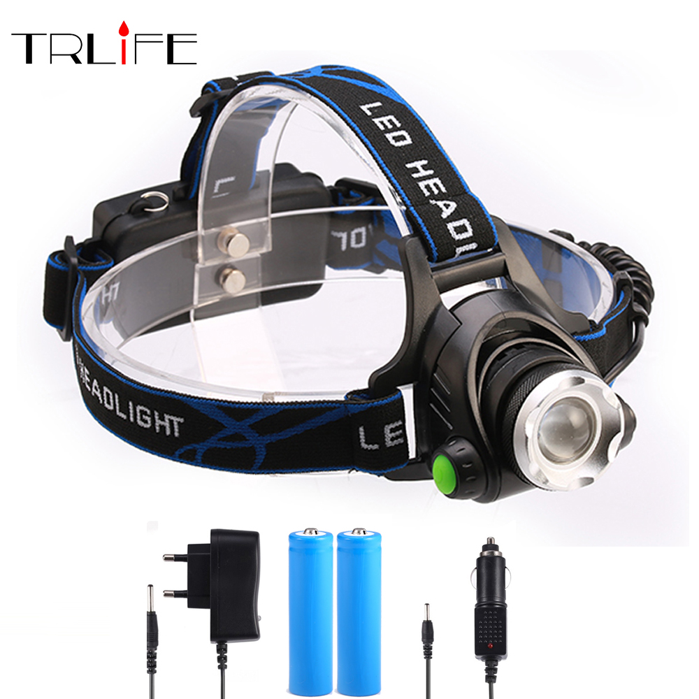 8000 Lumens Headlight L2 headlamp zoomable LED Head Lamp Rechargeable led head light+2x 18650 +AC/Car charger отсутствует детское пюре и прикорм page 2 page page 1