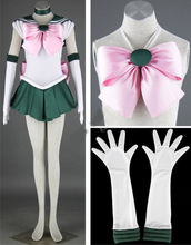 Hoat аниме сейлор мун сейлор юпитер кино макото косплей костюм сейлор единая 2S-3XL новый