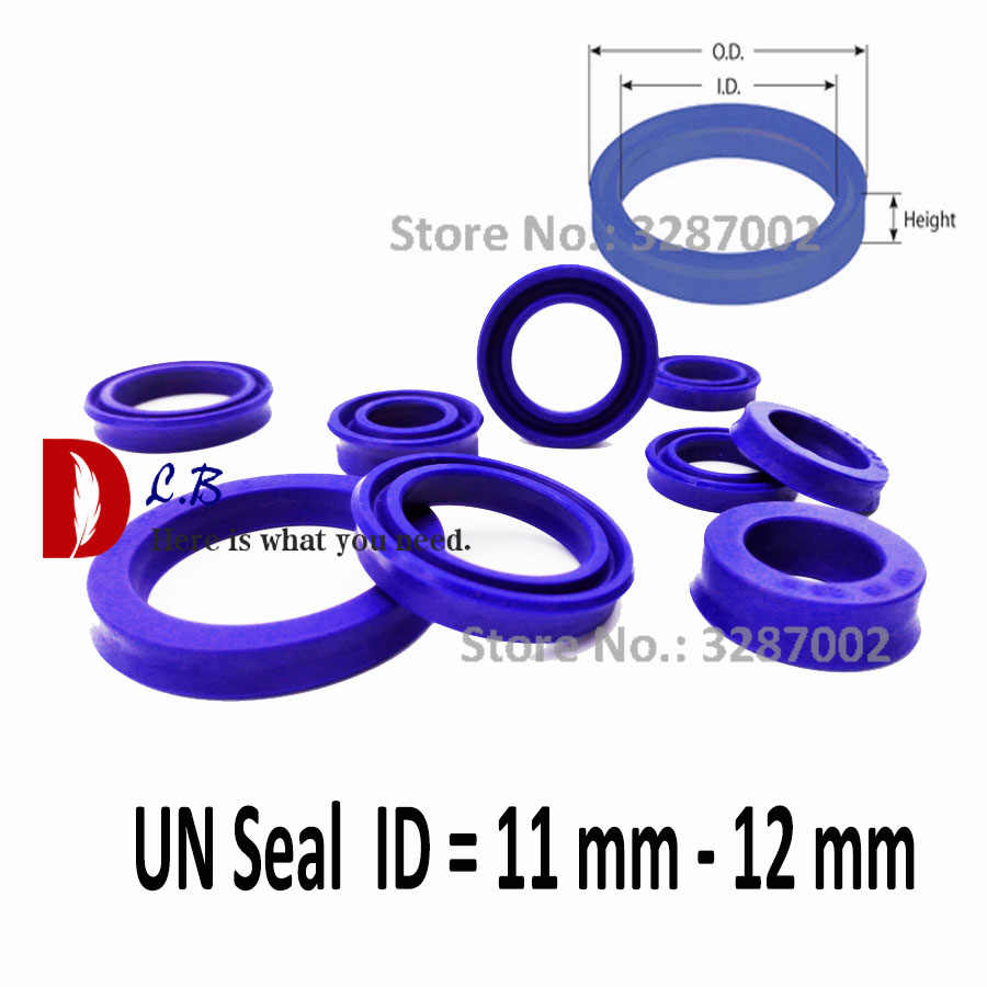 Large range of sizes available U-Cup UN Type 4mm x 10mm x 4mm Hydraulic Rod Seals