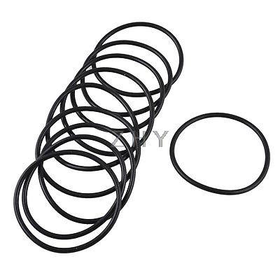 10pcs Black Rubber Oil Filter Seal O Rings Gaskets 34 6mm X 31mm X