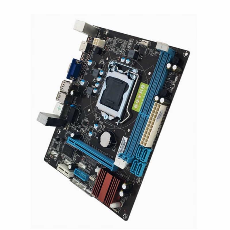 Новейшая 215*170 мм H61 материнская плата LGA 1155 2xDDR3 16 Гб материнская плата компьютера материнская плата для Inter Core 2 3 Поддержка VGA HDMI