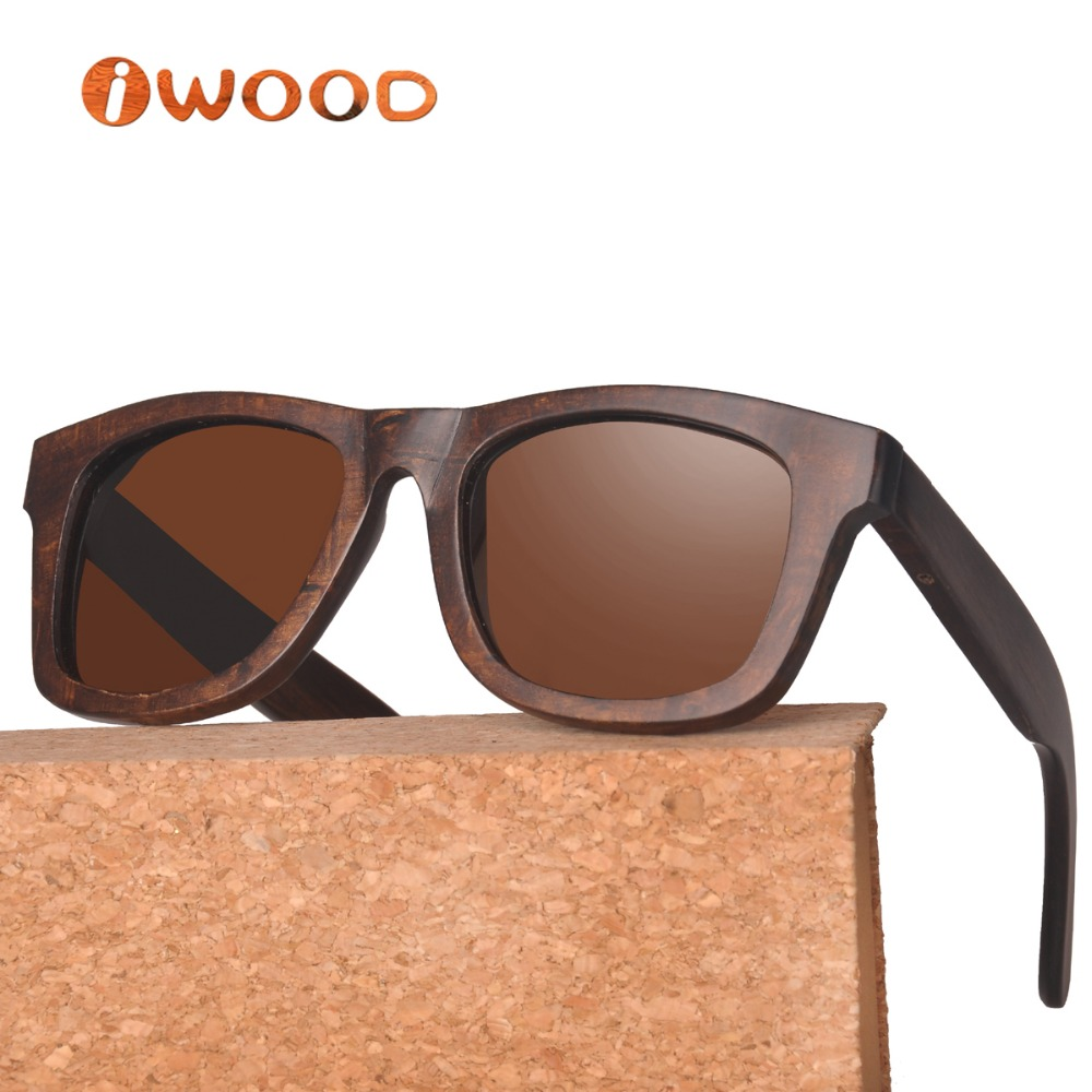 wa78 painted pyrus betulaefolia wood frame sunglass style polarized wooden sunglasses men sunglasses women in sunglasses from mens clothing accessories - Wood Frame Sunglasses