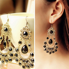 Hot Bohemian Sunflower Earrings Stud Earrings For Women The European And American Fashion Exquisite Vintage Brincos Orecchini