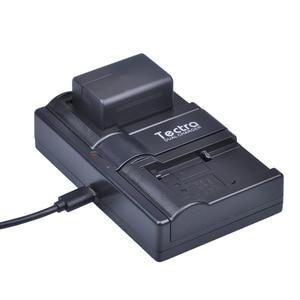 Tectra 2 шт VW-VBT190 VBT190 литий-ионная батарея + USB 2-канальный зарядное устройство для Panasonic HC-V110 HC-V130 HC-V160 HC-V180 HC-V201