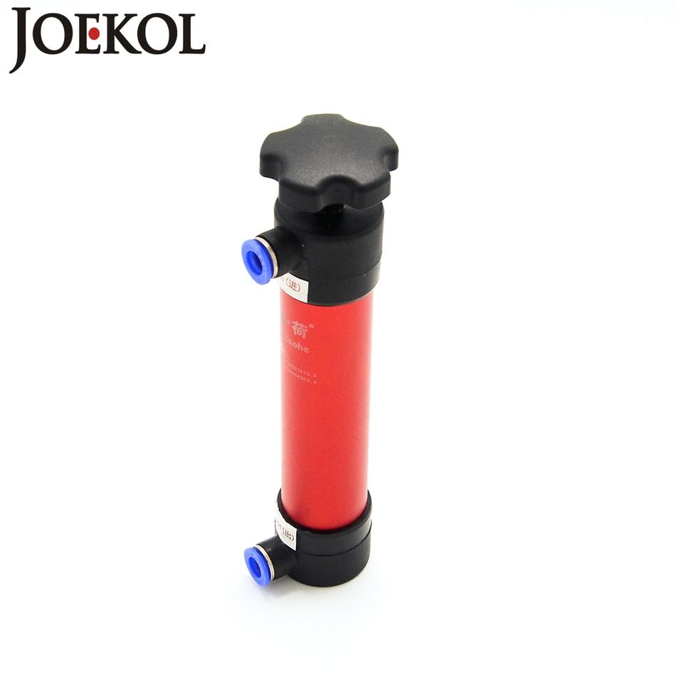 Portable Multi function Aluminium alloy Hand pump siphon fuel transfer pump Air water diesel gasoline Engine