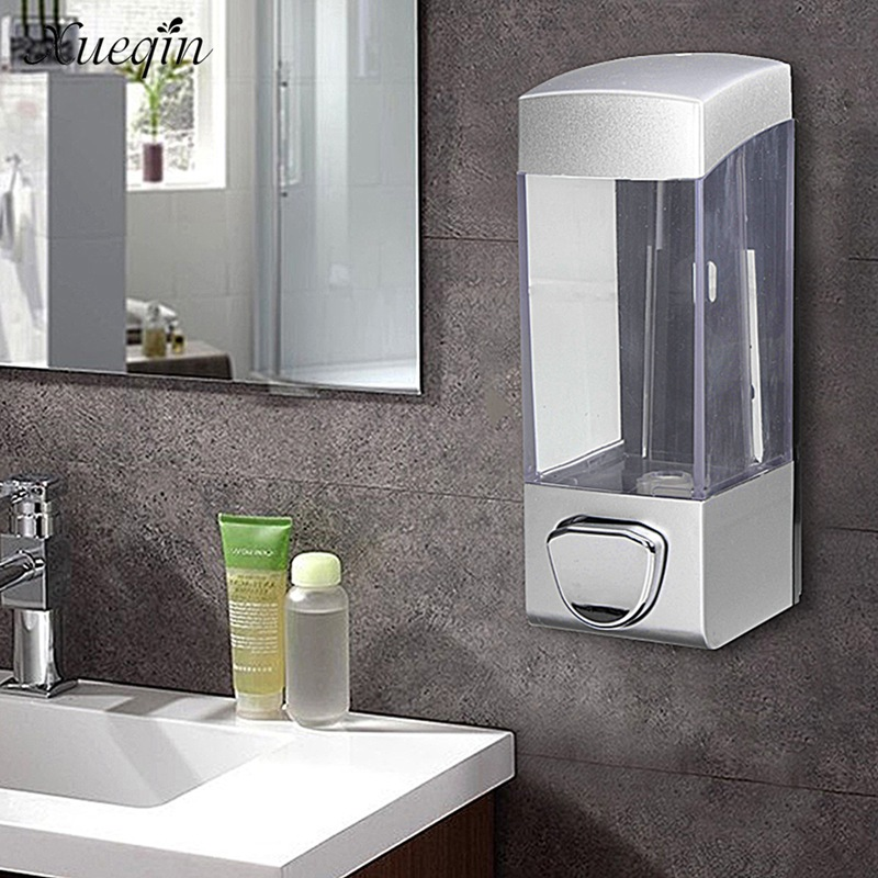 Xueqin 350ml Wall Mounted Bathroom Liquid Soap Dispenser
