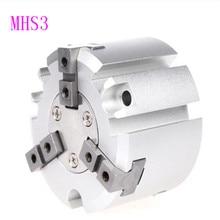 цена на SMC type three-prong pneumatic finger cylinder gripper MHS3-16D 20 25 32 40 50 D