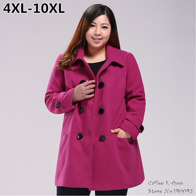 Aliexpress.com : Buy Wool coat plus size women clothing medium ...