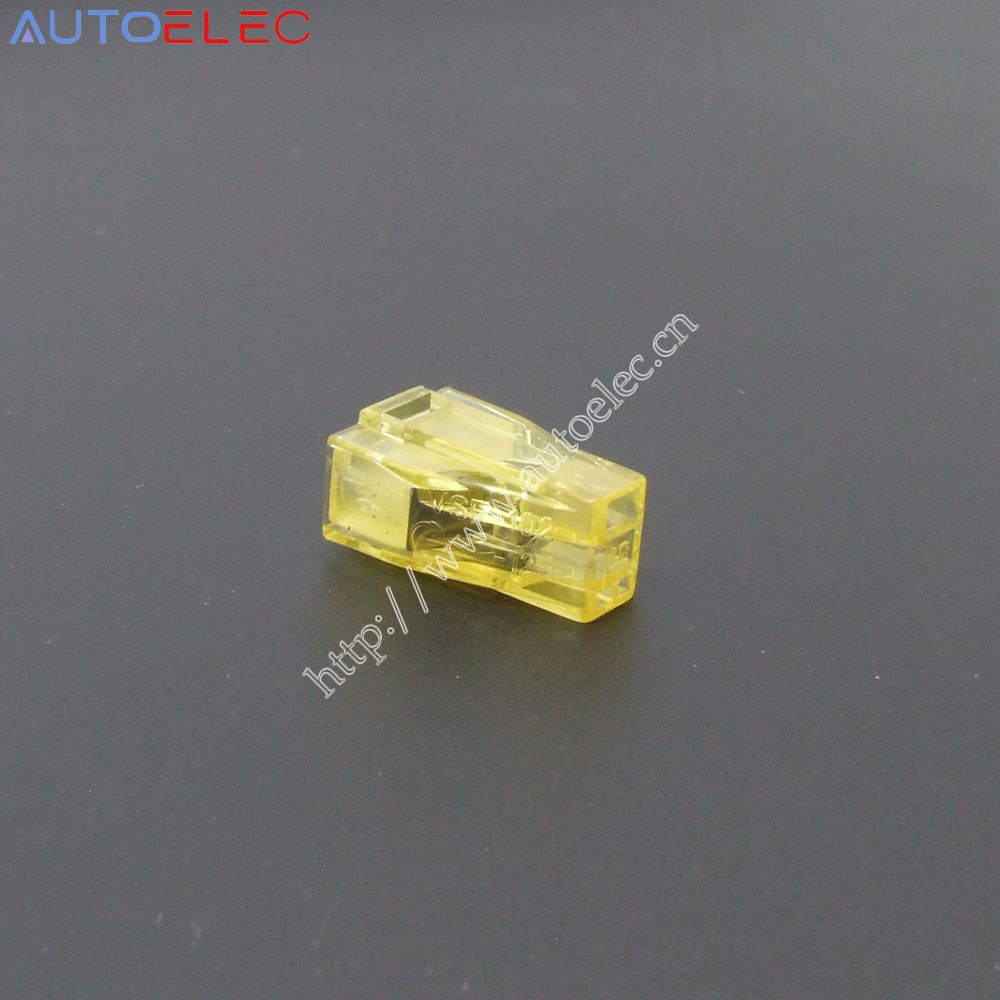 100pcs VSE 102 Push wire connector For Junction box 2 pin PCT 102 ...