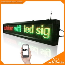 40inch Outdoor P10 wifi remote control Led sign Scrolling advertising Message led display board for Business and Store