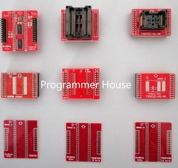 1 kit MiniPro TL866II adaptador USB Universal programador/programa Bios + 7  piezas adaptador sin