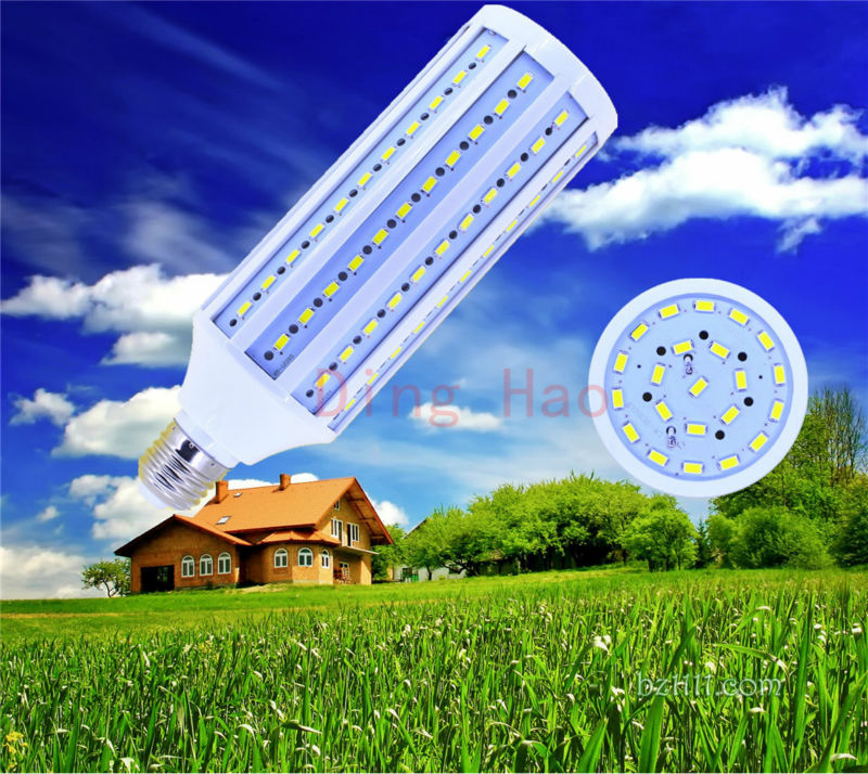 E27B22 5730 132 led 40W 85-265V AC LED Corn light led bulb lamp led bulb cool white warm white warranty 2 years -- free shipping