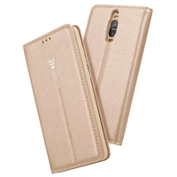 Luxury Phone Case For Huewei Mate 9 Pro 5 5 Leather Flip Magnetic Wallet Stand Cover