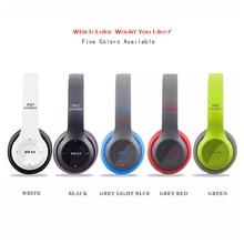 Plegable Bluetooth Auriculares Auricular Bluetooth Inalámbrico + Cable Doble Modo de Juegos de Música Con Micrófono y Radio FM Para Smartphone PC