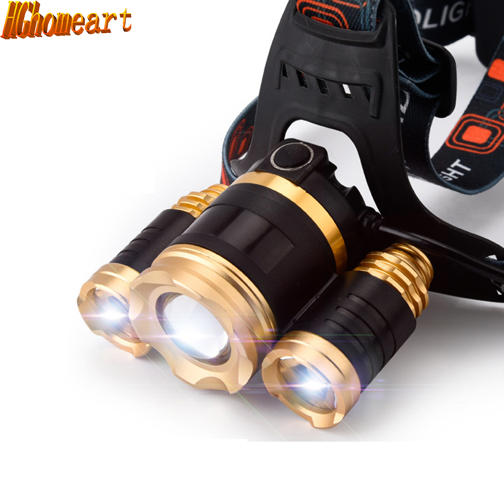 ФОТО Lithium headlamp searchlight 3 light super bright long-range fishing headlight outdoor night riding headlights miner's lamp