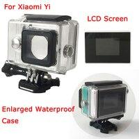 For Xiaomi Yi Camera Xiaoyi External Bacpac LCD 1 5 Inch LCD Display Screen Enlarged Waterproof