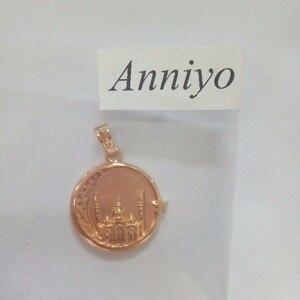Image 5 - Мужские и женские мусульманские ожерелья Anniyo, ожерелье в мусульманском стиле, ювелирные изделия в восточном стиле, ювелирные изделия в арабском мусульманском стиле #035304