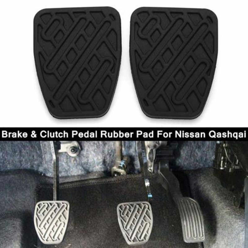 Foot Pedal Skins Rubbers Brake Clutch Pads Car And Rubber Pad Cover