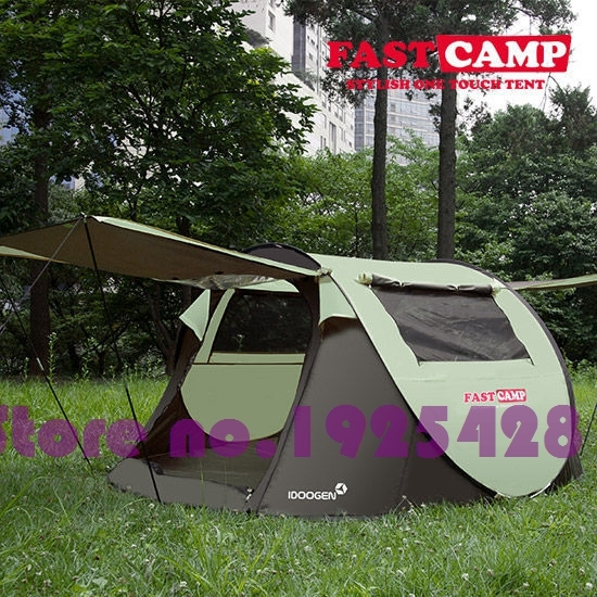 On sale 4-5 person automatic park family picnic BBQ hiking travel trekking cycling fishing beach protable outdoor camping tent