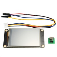 New 2 4 Inch Black Enhanced HMI Intelligent Smart USART UART Serial Touch TFT LCD Module