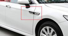 BJMYCYY Car styling Automobile leaf board side mark decoration For Toyota Camry 2018